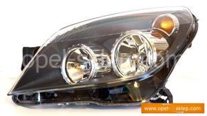 Reflektor Astra H - lewy - 1216561 OPEL - GM - 2823256329