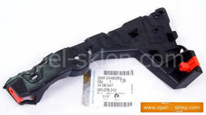 Ślizg - wspornik, mocowanie zderzaka przedniego Astra H - lewy 1406547 OPEL - GM - 2823256819