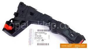 Ślizg - wspornik, mocowanie zderzaka przedniego Astra H - prawy 1406548 OPEL - GM - 2823256820