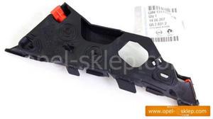 Ślizg - wspornik, mocowanie zderzaka przedniego Corsa D - lewy 1406207 OPEL - GM - 2823256821