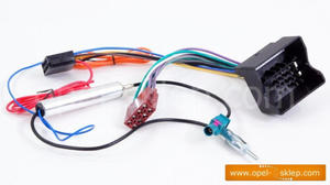 Adapter ISO OPEL standard + separator DIN - 2823248908