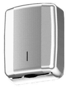 Pojemnik (podajnik) Faneco ZZ Geo LCO0107S na ręczniki papierowe w listkach - 2850453179