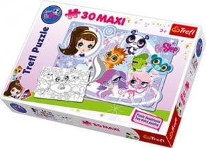PUZZLE DWUSTRONNE LITTLEST PETSHOP 30 MAXI PUZZLE - 2837924083