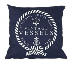 Poduszka marynistyczna Vintage Vessels - 2836905334