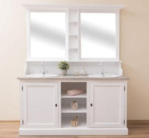 Szafka łazienkowa na dwie umywalki - 2842012888