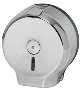 Dozownik papieru toaletowego Jumbo - chrom Pojemnik na papier, Podajnik do papieru, Dozownik na papier toaletowy, Faneco - 2858930743