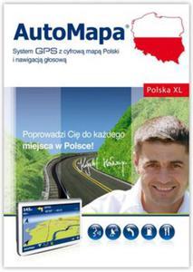 AutoMapa Polska XL - BOX - 2824940448