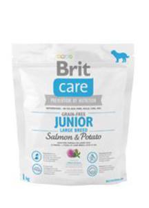 Brit Care Grain-free Junior Large Breed Salmon&Potato-karma bez zbożowa z łososiem i ziemniakami1 kg - 2822930469