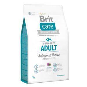 Brit Care Grain-free Junior Large Breed Salmon&Potato-karma bez zbożowa z łososiem i ziemniakami3 kg - 2822930470