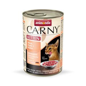 Animonda Carny Kitten - cielęcina z kurczakiem 400g - 2822930554