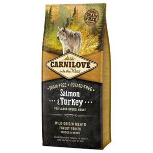 Carnilove Salmon & Turkey For Large Breed Adult 12KG - 2836880031