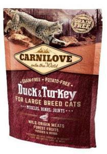 Carnilove Cat Adult Large Breed z kaczką i indykiem 400g - 2852790927
