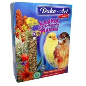 DAKO-ART Maciuś - Pełnowartościowy pokarm dla kanarków 1kg - 2822923742
