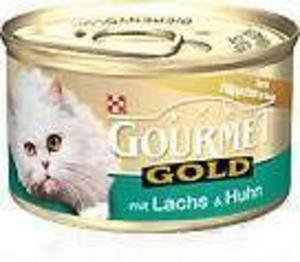 GOURMET GOLD Łosoś i kurczak w sosie 85g - 2822925135
