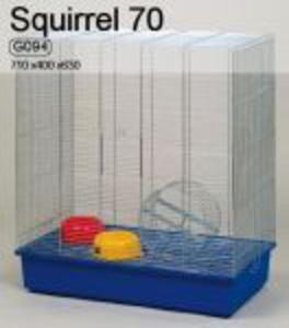 Inter-Zoo Klatka dla gryzoni Wiewiórka 70 Ocynk 71 x 40 x 63 cm - 2822925453