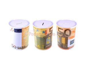 Duża puszka skarbonka - 50 euro - 2844627369