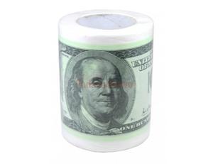Papier toaletowy w dolary - 2833188279