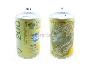 Puszka skarbonka - 200 złotych SP034 - 2833188310