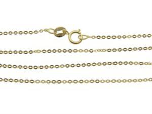 Złoty łańcuszek splot ankier tradycyjny YES VERONA - 2833273033