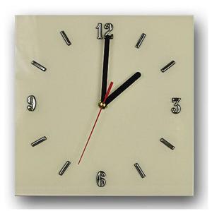 Szklany zegar ścienny Liptos 8R - 5 kolorów - 2850944929