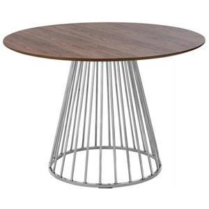 Okrągły stół do salonu glamour...