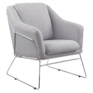 Fotel wypoczynkowy Foster - popielaty - 2853744358