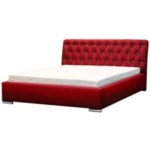Łóżko z pojemnikiem na pościel Luxor 2X 140x200 - 44 kolory - 2881091626