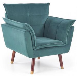 Fotel wypoczynkowy Raven - zielony - 2862737142