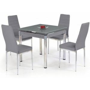 Rozkładany stół Cuber - popielaty - 2850944287