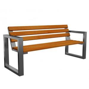 Ławka ogrodowa Norin Silver 150cm - 8 kolorów - 2850944329