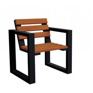 Fotel ogrodowy Norin Black - 8 kolorów - 2850944354