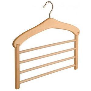 Drewniany wieszak na spodnie Wixi X3 - 2850944452