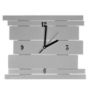 Drewniany zegar ścienny Liptos - 11 kolorów - 2850944524