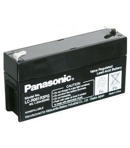 Akumulator żelowy AGM Panasonic (LC-R061R3PG) 6V 1,3Ah - 2835582025