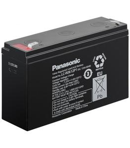Akumulator żelowy AGM Panasonic (LC-R0612P1) 6V 12Ah - 2835582037