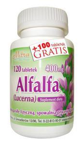 Alfalfa wzmocnienie spowalnia starzenie lepszy sen - 2843329104