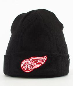 47 Brand-Detroit Red Wings Cuff Knit Czapka Zimowa Czarna - 2858613140