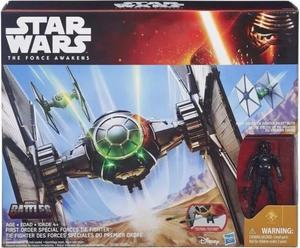 Star Wars Episode VII Class II Deluxe Vehicle with Figure 2015 1st Order Special Forces TIE Fighter - 2824172086