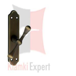 Klamka okienna TOSCA oliwka, szyld długi - 2825519145