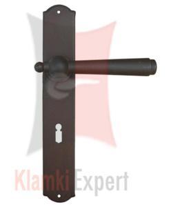 Klamka MONACO 2900 z otworem na klucz zwykły - 2825519380