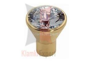 DIAMANTE OZ 24 mm gałka meblowa z kryształem Swarovskiego - 2825518258