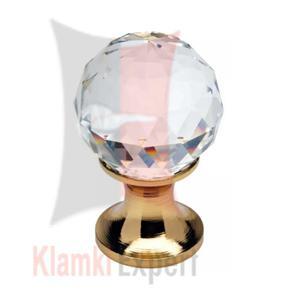 CRYSTAL OZ 40 mm gałka meblowa z kryształem Swarovskiego - 2825518169