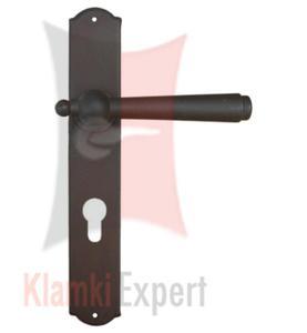 Klamka MONACO 2900 z otworem na wkładkę patentową - 2825518804