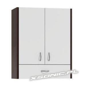 Szafka łazienkowa wisząca z szufladą szerokość 60cm 6 kolorów - 2824419346