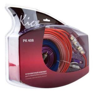 Zestaw okablowanie przewodów Kicx do instalacji audio głośników wzmacniacza czterokanałowego - 2857331709