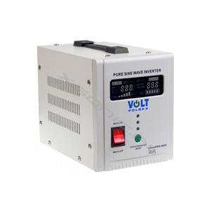 Zasilacz awaryjny UPS przetwornica napięcia z 12V 230V o mocy 500W 800W marki VOLT czysty SINUS awaryjne zasilanie pieców - 2855498485