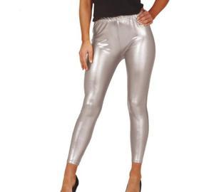Legginsy metaliczne, srebrne - 2859170512
