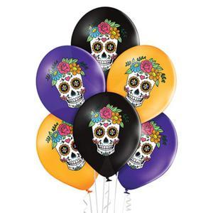 Balon na Meksykańskie Halloween, Cartina - 2903567820