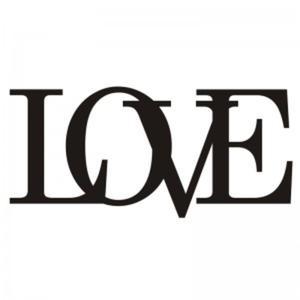 Napis na ścianę LOVE - 2822983925