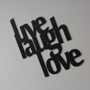 Napis na ścianę LIVE LOUGH LOVE - 2822983929